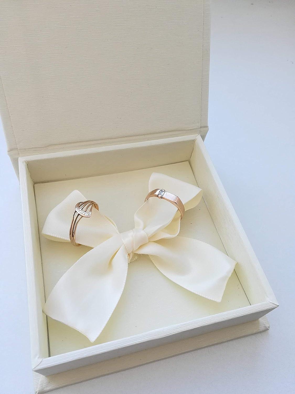 1 year warranty Marriage Award ring box proposal wedding
