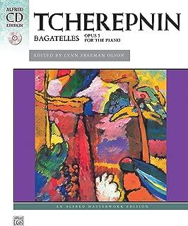 Tcherepnin -- Bagatelles, Op. 5: Book & CD (Alfred Masterwork CD Edition)