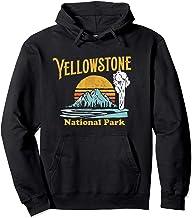 Vintage Yellowstone National Park Retro Hoodie