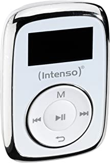 Intenso Music Mover MP3, 8GB - Mp3 Player, LCD Display, USB 2.0, White, incl. Stereo Headphones