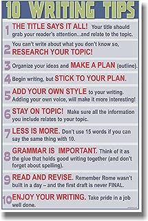Language Arts Classroom Poster - 10 Writing Tips