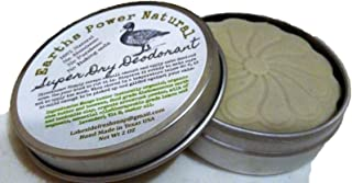All Natural Deodorant Aluminum Free Baking Soda Free Super Dry with Milk of Magnesia (MOM) 2 oz Solid Pick Up and Use Bar , Detox Your Armpit!