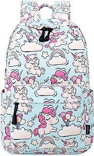 Cute Lightweight Unicorn Backpacks Girls School Bags Kids Bookbags