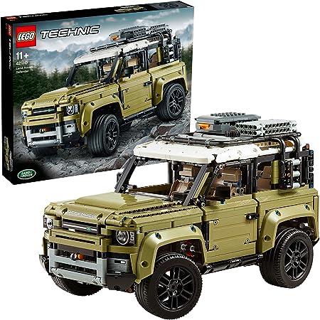 LEGO 42110 Technic Land Rover Defender, Todoterreno de Juguete, Maqueta de Coche para Construir