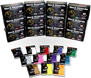 BCW 1000 Double Matte Deck Guard Card Sleeves, Mix
