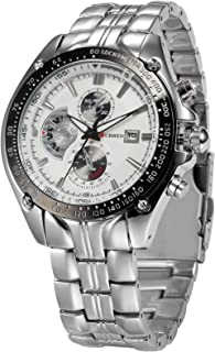CURREN Analogue Men's Watch (White Dial Silver Colored Strap)
