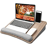 Huanuo Portable Lap Desk with Pillow Cushion, Fits up to 15.6 inch Laptop