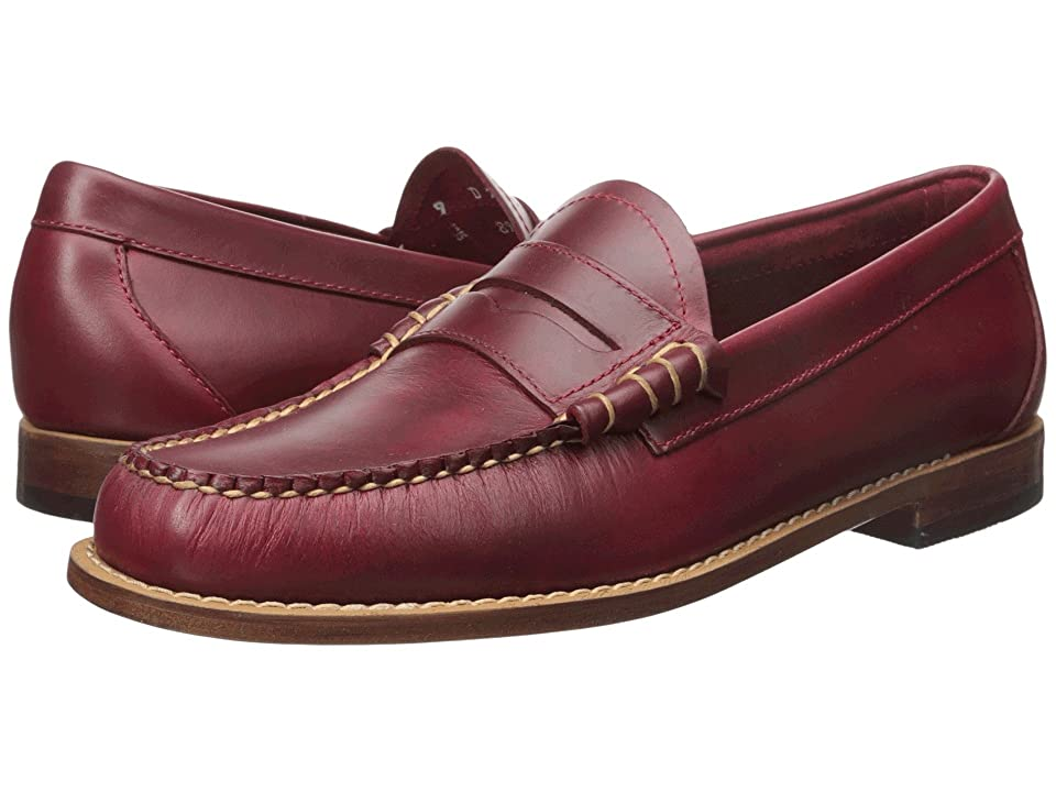 G.H. Bass & Co. Larson Weejuns (Red Pull-Up) Men's Slip-on Dress Shoes