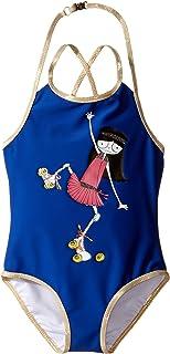 [マークジェイコブス] Little Marc Jacobs レディース One-Piece Miss Marc Swimsuit (Toddler/Little Kids) 水着 [並行輸入品]