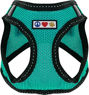 Pawtitas Pet Reflective Mesh Dog Harness,Step in or Vest Harness Dog Training Walking of YourPuppy/Dog - No More Pulling, Tugging, Choking