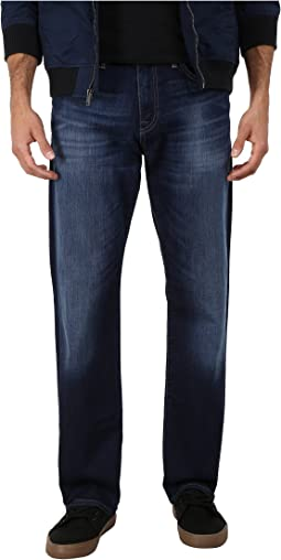 Mavi Jeans Myles Midrise Straight Leg in Dark Williamsburg