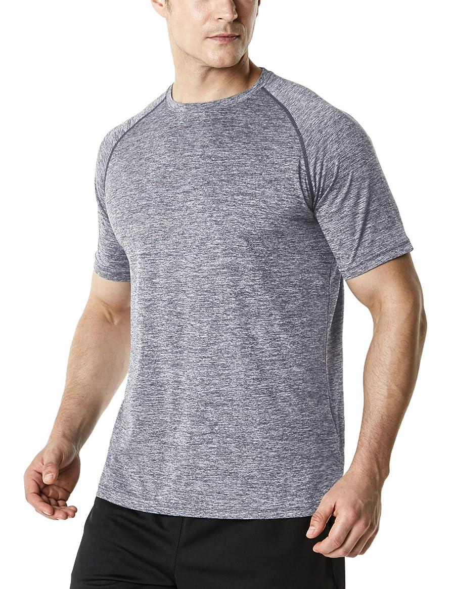 TSLA Men & Women's HyperDri Short Sleeve T-Shirt Athletic Cool Running Top MTS Series