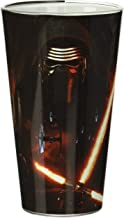 Star Wars Silver Buffalo SE04031P Disney Star Wars Ep7 Kylo Ren Poster Single Pint Glass in Box, 470ml, Multicolor
