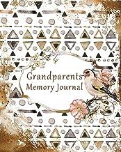 Grandparents Memory Journal: 7 Generation Keepsake Guided Memory Journal & Family Tree