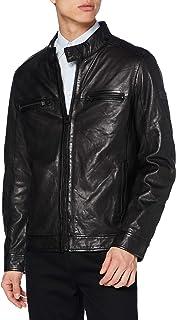 camel active Men's Leather Jacket