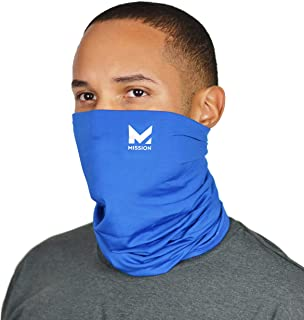 Neck Gaiter Customize Your Coverage, Face Mask, 12+ Ways to Wear