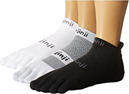 Injinji Run Lightweight No Show Coolmax 3 Pair Pack
