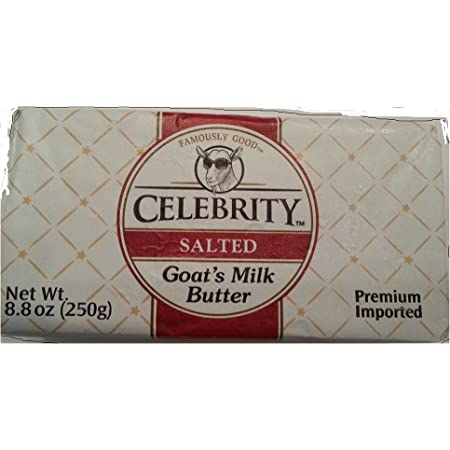 Celebrity Salted Goat's Milk Butter (8.8 ounce)