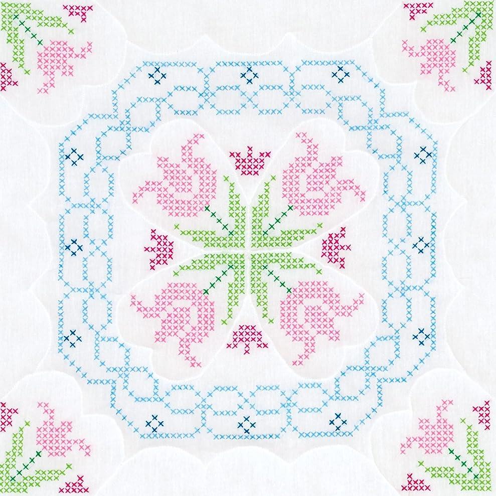 Jack Dempsey Needle Art Xx Lace Tulips White 18 Quilt Blocks xvtsdnaos6889