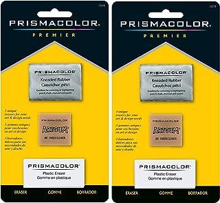 Sanford 2-PACK - Prismacolor Premier Eraser Set - Kneaded, ArtGum and Plastic Erasers, Set of 3