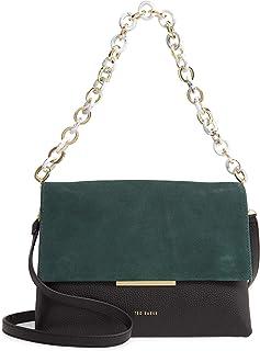Ted Baker Jet Multicoloured AAlice Leather & Suede Shoulder Bag