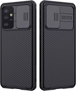 حافظة حماية لهاتف جالكسي A72 الجيل الرابع والجيل الخامس مع غطاء كاميرا، جالكسي A72 لعام(2021) غطاء واقٍ من البولي كربونات ...