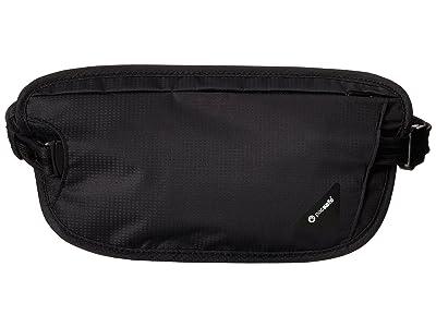 Pacsafe Coversafe X100 RFID Waist Wallet (Black) Wallet Handbags