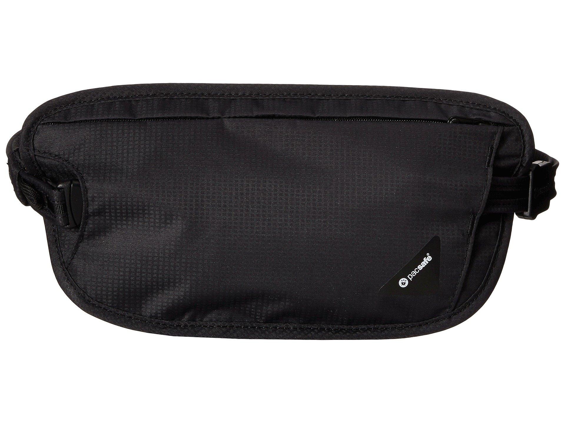 Pacsafe Waist Wallet Rfid Coversafe X100 Black 66vqBf