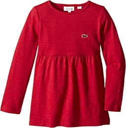 Long Sleeve Jersey Tee Shirtdress (Toddler/Little Kids/Big Kids)