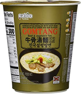 Paldo Gomtang Noodles, 2.29-ounce Packages (Pack of 6)