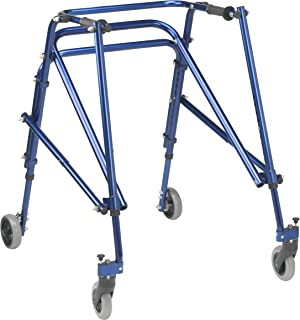 Inspired by Drive Nimbo 2G Lightweight Posterior Walker, Knight Blue, Large