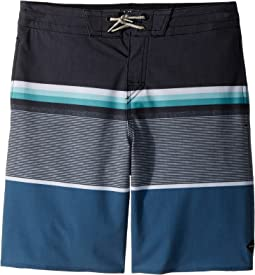 Rip Curl Kids - Rapture Layday Boardshorts (Big Kids)
