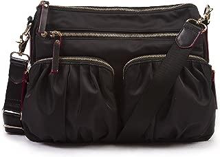 Nylon Crossbody Bag - Premium Lightweight Top-Zip Handbag