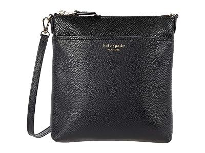 Kate Spade New York Polly Small Swing Pack (Black) Handbags