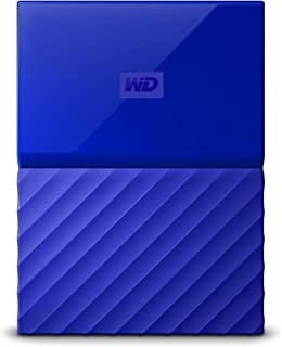 WD My Passport 4 TB Portable Hard Drive for PC, Xbox One and PlayStation 4 - Blue