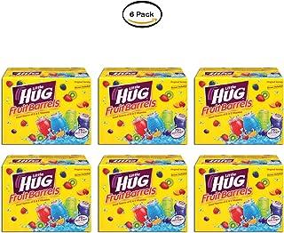 PACK OF 6 - Little Hug Fruit Drink Barrels, Original Variety Pack, 8 Fl Oz, 40 Count
