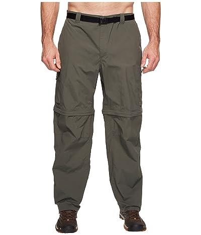 Columbia Big Tall Silver Ridge Convertible Pant (Gravel) Men