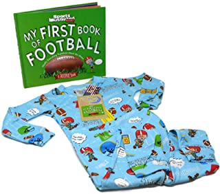 Books to Bed Little Boy's Football Pajama Book Set