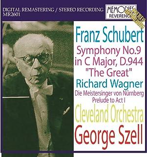 ジョージ・セル指揮クリーヴランド管弦楽団 ワーグナー:楽劇「ニュルンベルクのマイスタージンガー」第一幕前奏曲、他