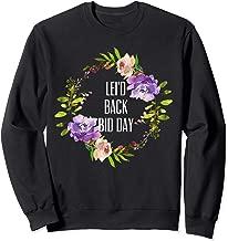 Lei'd Back Bid Day, Sorority, University, and Greek Life Sweatshirt