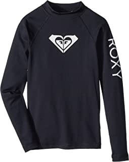 Roxy Kids - Whole Hearted Long Sleeve Rashguard (Big Kids)