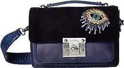 Gessica Velvet Shoulder Bag