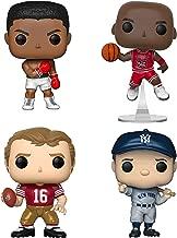 Funko Pop! - Sports Legends Collectors Set - Michael Jordan, Muhammad Ali, Joe Montana, Babe Ruth