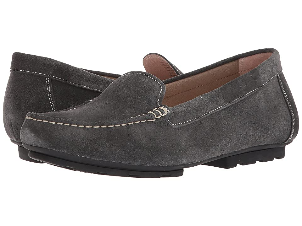 Blondo Dale Waterproof Loafer (Dark Grey Suede) Women