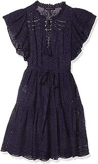 Women's Ruffle Sleeve Midi Dress