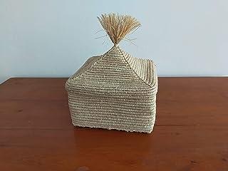 Cestino in rafia, cestino colorato, cestino artigianale marocchino, cestino intrecciato, bara in vimini