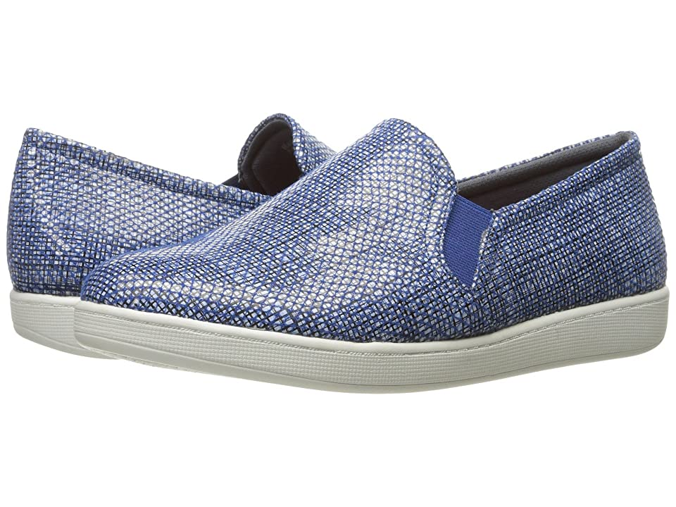 7fe334893a2 Trotters Americana (Navy White) Women s Slip on Shoes
