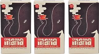 Organic Assam Tea Bags Triple Pack by Mana Organics, 75 Premium Whole Leaf Tea Bags containing Orthodox and CTC Black Tea (Makes 75 cups)