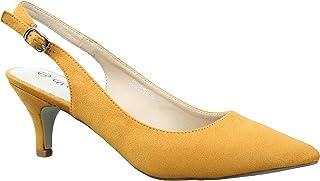 livraison rapide large choix de couleurs bébé Amazon.fr : Jaune - Escarpins / Chaussures femme ...