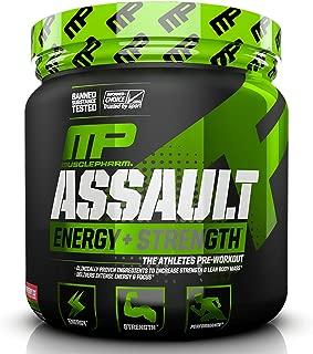 Muscle Pharm Assault Sport 30 Serve 345g, Strawberry Ice, 0.76 Pound